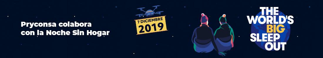 Noche sin hogar 2019 Pryconsa